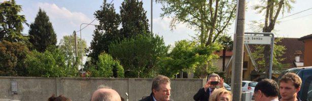 Comunicato Stampa – Parco in via Bembo, incontro con il Sottosegretario alla Difesa On. Domenico Rossi